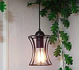 Подвесная люстра на 3-лампы SANDBOX-3G E27 на круглой основе, чёрный, фото 4