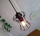 Подвесная люстра на 3-лампы SANDBOX-3G E27 на круглой основе, чёрный, фото 5