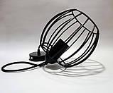 Подвесной светильник BARREL E27 чёрный, фото 4