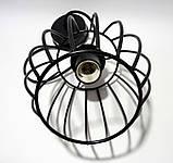 Подвесной светильник BARREL E27 чёрный, фото 5