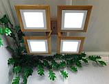 Потолочная люстра QUAD/LED LED 48W светлое дерево, фото 4