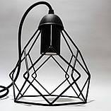 Подвесная люстра на 5-ламп RUBY-5 E27 чёрный, фото 4