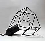Подвесная люстра на 5-ламп RUBY-5 E27 чёрный, фото 5