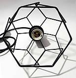 Подвесная люстра на 5-ламп RUBY-5 E27 чёрный, фото 7