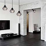 Подвесная люстра на 5-ламп SKRAB-5 E27 чёрный, фото 9