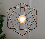 Подвесная люстра на 3-лампы CLASSIC-3 E27 чёрный, фото 7