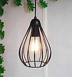 Подвесная люстра на 2-лампы FANTASY-2 E27 чёрный, фото 2