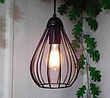 Подвесная люстра на 2-лампы FANTASY-2 E27 чёрный, фото 3