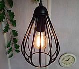 Подвесная люстра на 2-лампы FANTASY-2 E27 чёрный, фото 4