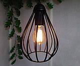 Подвесная люстра на 2-лампы FANTASY-2 E27 чёрный, фото 5