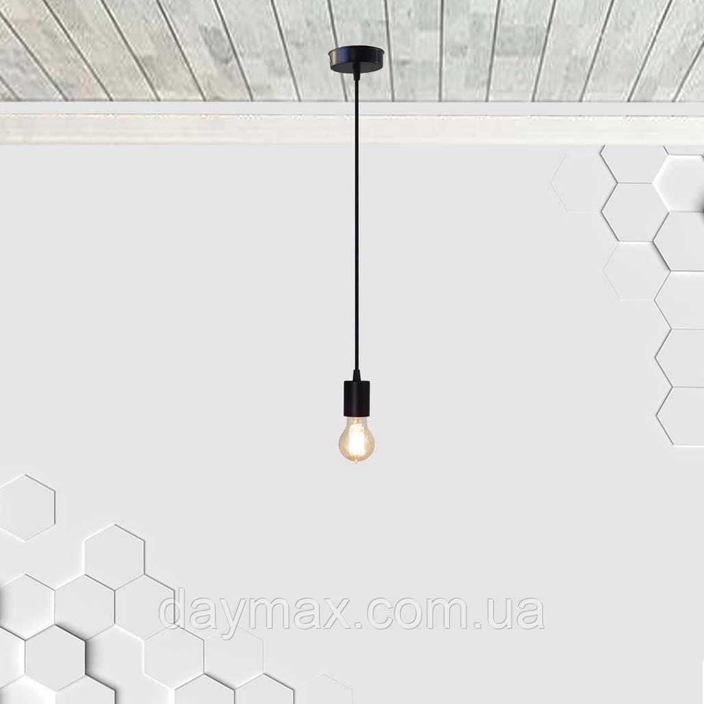 Подвесной светильник CEILING E27 чёрный на 1-лампу