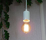 Подвесной светильник CEILING E27 белый на 1-лампу, фото 4