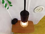Потолочный подвеснаой светильтник на 3-лампы CEILING-3G E27 на кругу, чёрный, фото 6