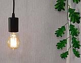 Потолочный подвеснаой светильтник на 3-лампы CEILING-3G E27 на кругу, чёрный, фото 8