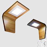 Светодиодное настенное бра COBRA LED 6W натуральное дерево, фото 5