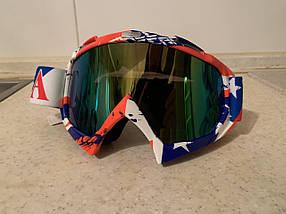 Маска  на шлем с ярким принтом