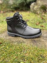 Чоловічі шкіряні черевики KaDar, фото 3