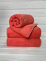 Полотенца для лица махровое Жаккард бирюзовый, фото 2
