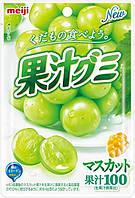Meiji Конфеты жевательные с натуральным виноградным соком, 51 г