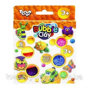 """Креативна творчість """"Bubble Clay"""" 8 кольорів укр (20) BBC-04-01U"""
