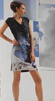 Молодежное мини- платье цветное 2026 Paris