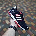 Мужские кроссовки Adidas ZX 750 (синие с красным) 10323, фото 6