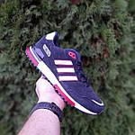 Мужские кроссовки Adidas ZX 750 (синие с красным) 10323, фото 4