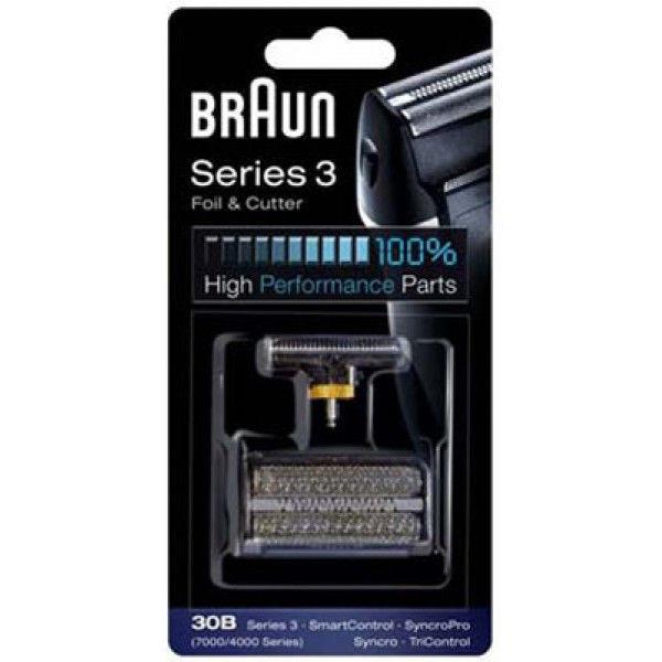 ✅ Бреющая сетка и режущий блок BRAUN Series 3 30B