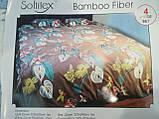 Комплект постельного белья Велюровый Зебра   евро размер, фото 2