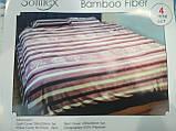 Комплект постельного белья Велюровый Зебра   евро размер, фото 3