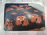 Комплект постельного белья Велюровый Зебра   евро размер, фото 6