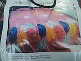 Комплект постельного белья Велюровый Зебра   евро размер, фото 8