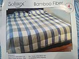 Комплект постельного белья Велюровый Зебра   евро размер, фото 9