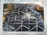 Комплект постельного белья Велюровый Зебра   евро размер, фото 10