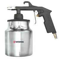 Пистолет пескоструйный пневматический с бачком INTERTOOL PT-0705