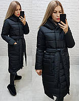 Теплые приталенные зимние пальто