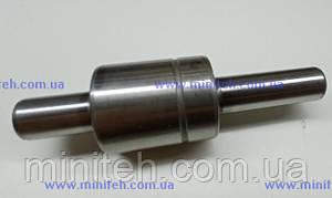 Вал водяного насосу з підшипником дв. КМ-385Вт (D-16 mm)