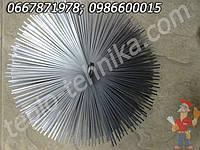 Щётка для чистки дымохода металлическая пружинная сталь диаметром 25 см