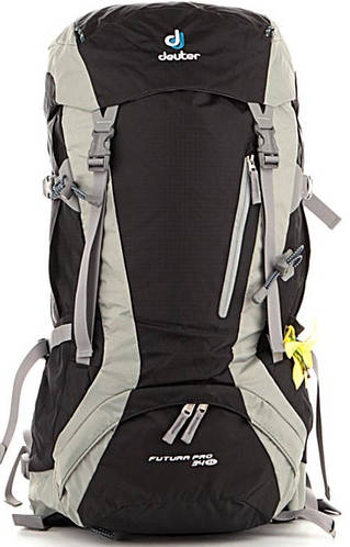 Женский прочный туристический рюкзак DEUTER Futura Pro 34 SL 34261 7400 черный