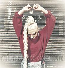 Канекалон длинный (пепельный блонд) X-Pression 165 г (104*208 см), фото 2