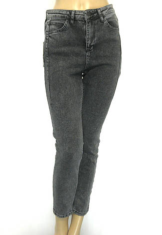 Джинси жіночі сірі моми Pozitif jeans, фото 2