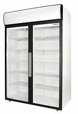 Шкаф холодильный DM110-S Polair, 1000 л, (+1..+10)