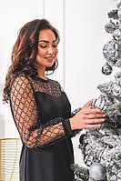 Платье с сеткой, фото 1