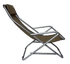 Кресло-шезлонг Novator SH-7 Brown, фото 2