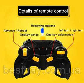 Машинка радиоуправляемая трансформер Robot Car Bugatti 1:14 DEFORMATION NO:577, фото 2