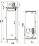 Шкаф холодильный купе DM114Sd-S Polair, 1400 л, (+1..+10), фото 2