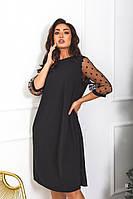 Платье нарядное с сеткой, фото 1