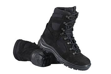 Берці зимові / військова тактична взуття GROZA (чорний)
