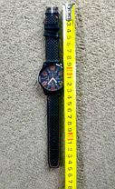 Мужские наручные часы GT Grand Touring большим циферблатом 4см (с оранжевыми цифрами), фото 2