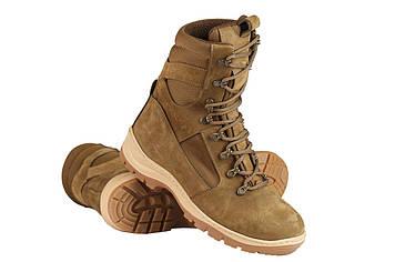 Берці зимові / військова тактична взуття GROZA (coyote)